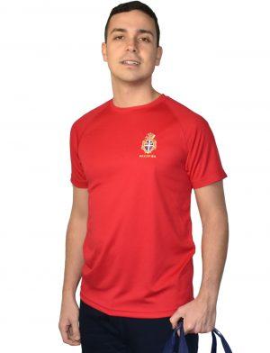 Da Hobby Sport Roma t-shirt microfibra multi sport Reale Circolo Canottieri Tevere Remo