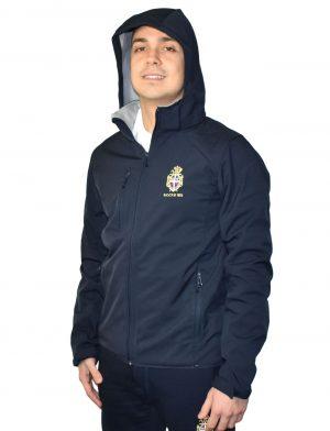 Da Hobby Sport Roma giacca softshell con cappuccio staccabile Reale Circolo Canottieri Tevere Remo