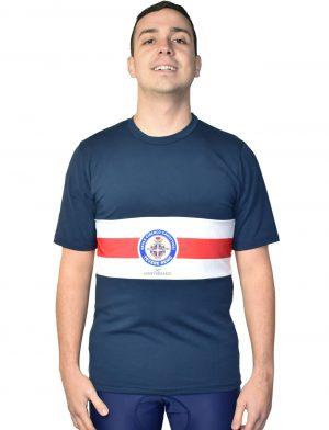 Da Hobby Sport Roma t-shirt cotone elasticizzato Reale Circolo Canottieri Tevere Remo