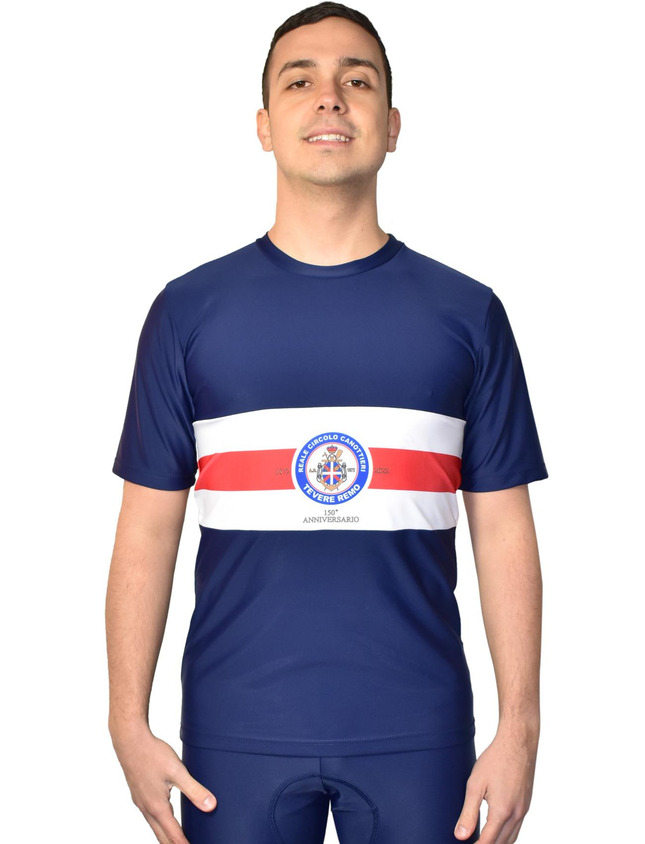 Da Hobby Sport Roma t-shirt microfibra Reale Circolo Canottieri Tevere Remo