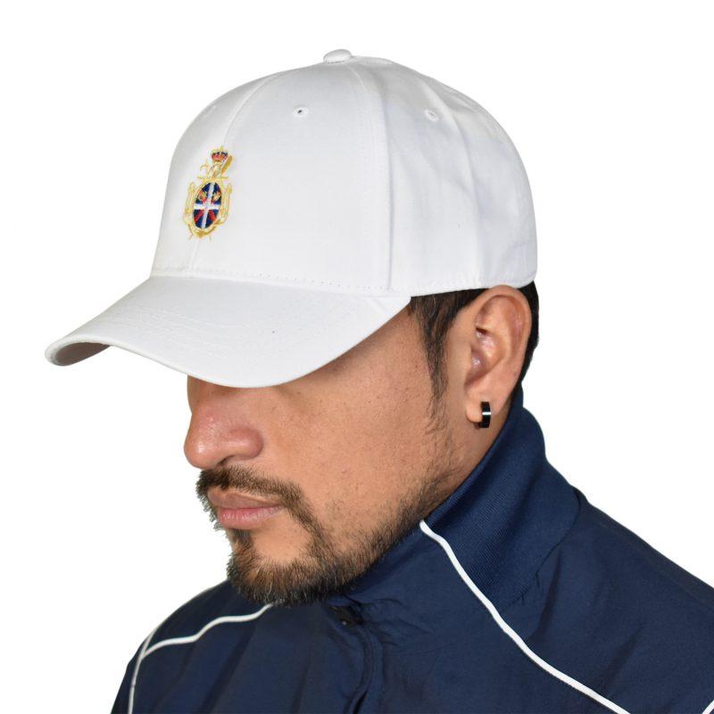 Da Hobby Sport Roma Berretto cotone bianco Reale Circolo Canottieri Tevere Remo