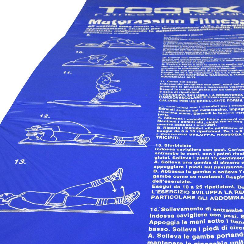 Da Hobby Sport Roma tappetino Toorx imbottito per fitnes, yoga, pilates e palestra