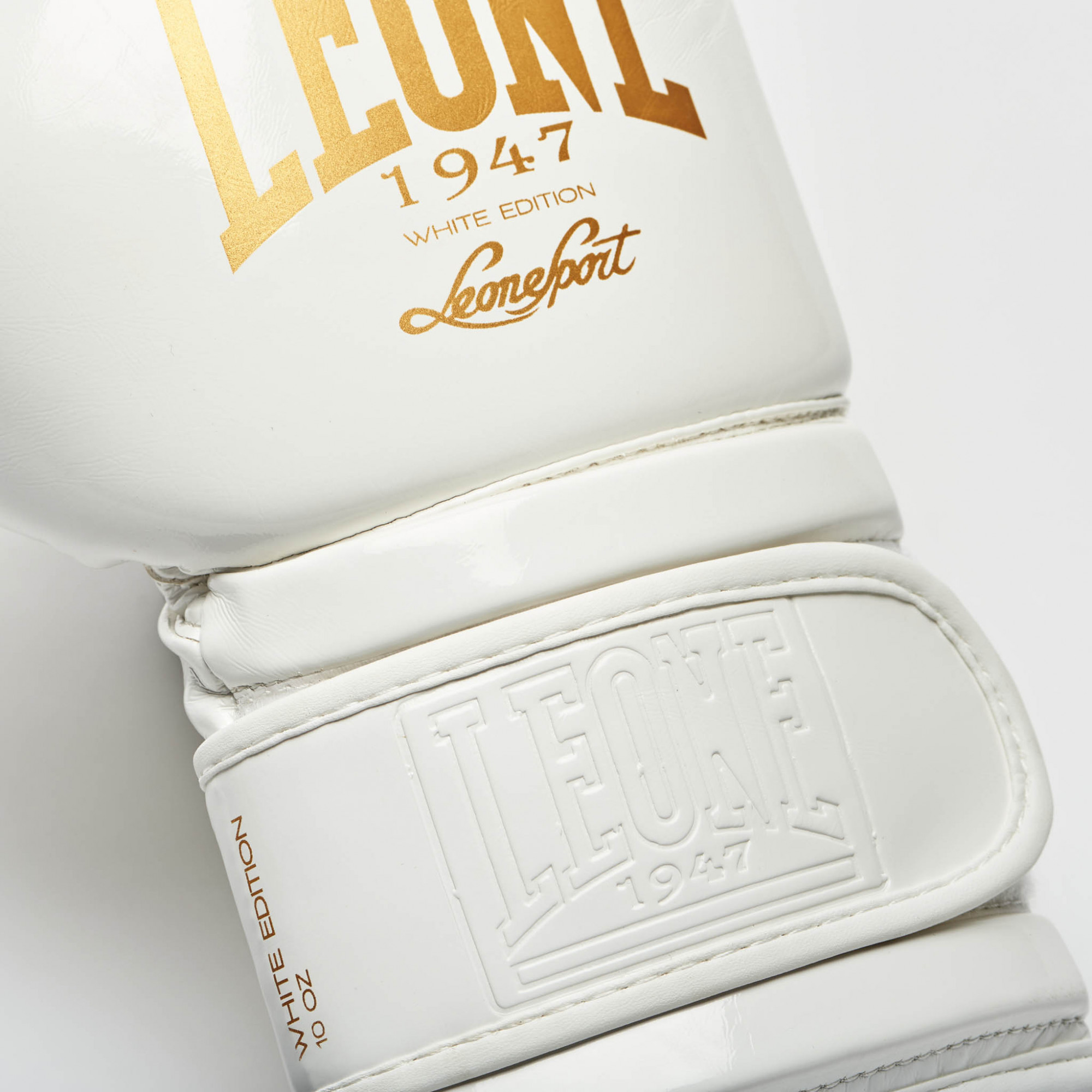 Da Hobby Sport Roma Guantoni da boxe Leone Black & White bianco
