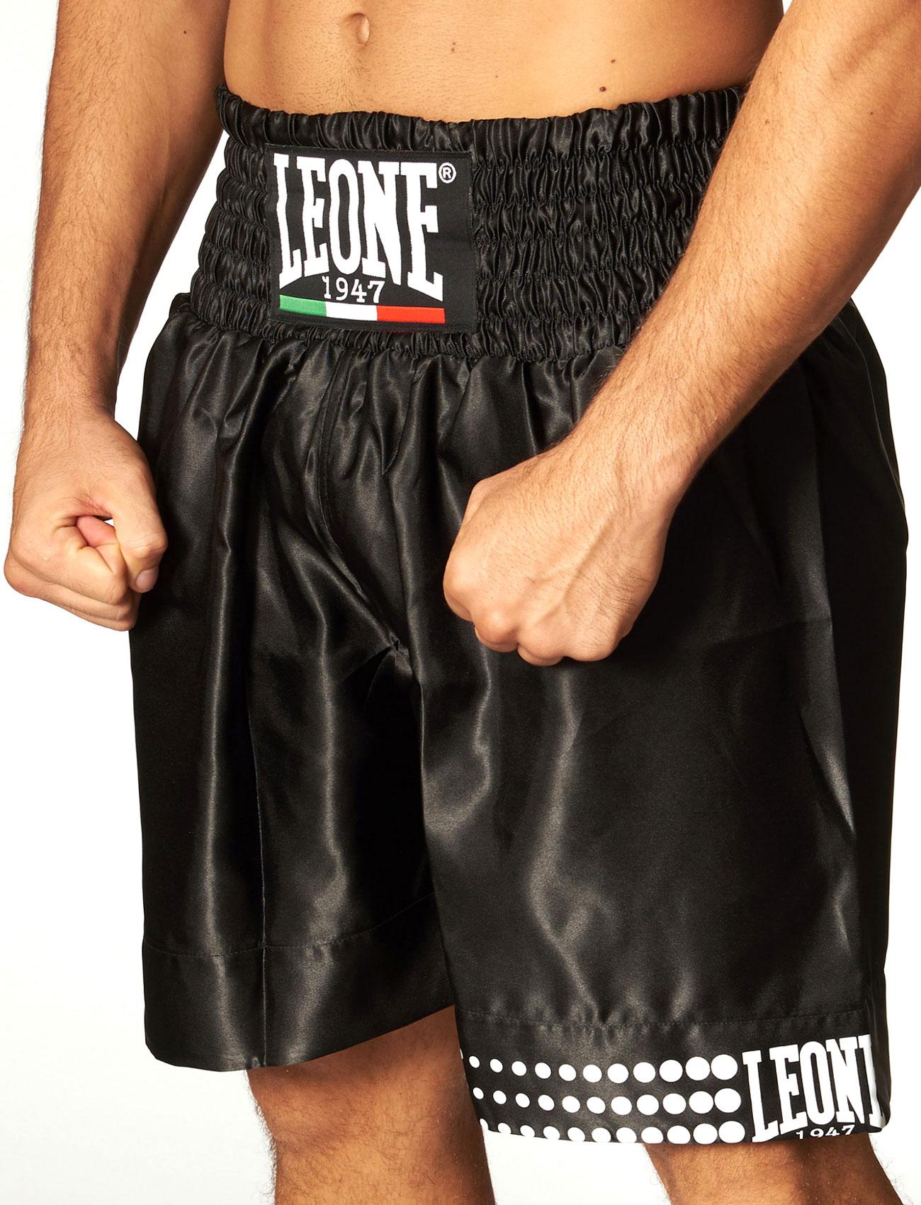 Da Hobby Sport Roma Pantaloncino Boxe in satin Leone
