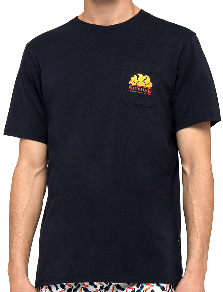 Da Hobby Sport Sundek-T-Shirt Blu