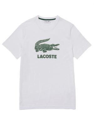 Da Hobby Sport LaCoste T-shirt TH-0063 Bianco