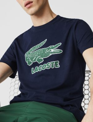 Da Hobby Sport LaCoste T-shirt TH-0063 Blu