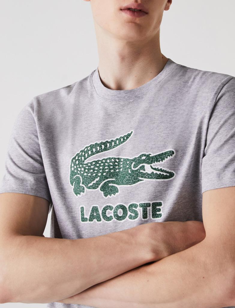 Da Hobby Sport LaCoste T-shirt TH-0063 Grigio