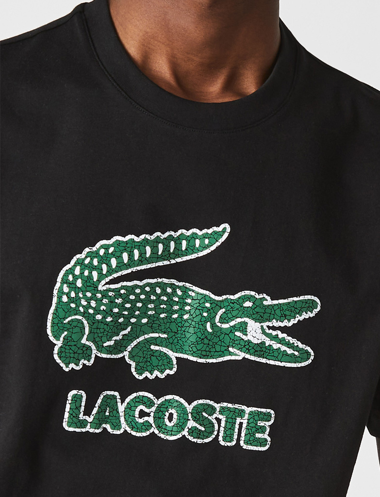Da Hobby Sport LaCoste T-shirt TH-0063 Nero
