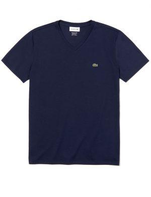 Da Hobby Sport LaCoste T-shirt TH6710 Blu Navy