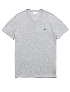Da Hobby Sport LaCoste T-shirt TH6710 Grigio Chine