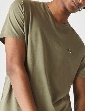 Da Hobby Sport LaCoste T-shirt TH6710 Verde Cachi