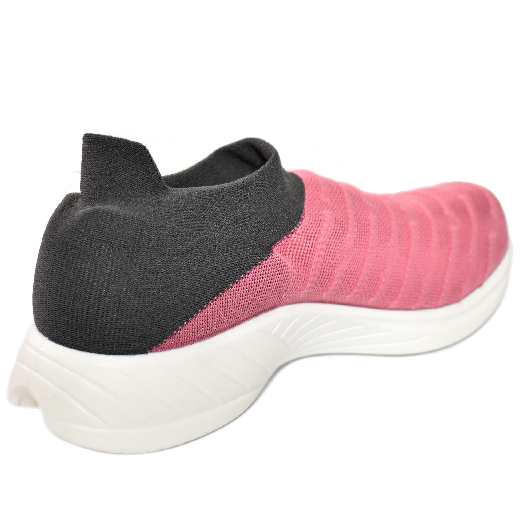 Da Hobby Sport Roma scarpa calzino UYN grigio e rosa