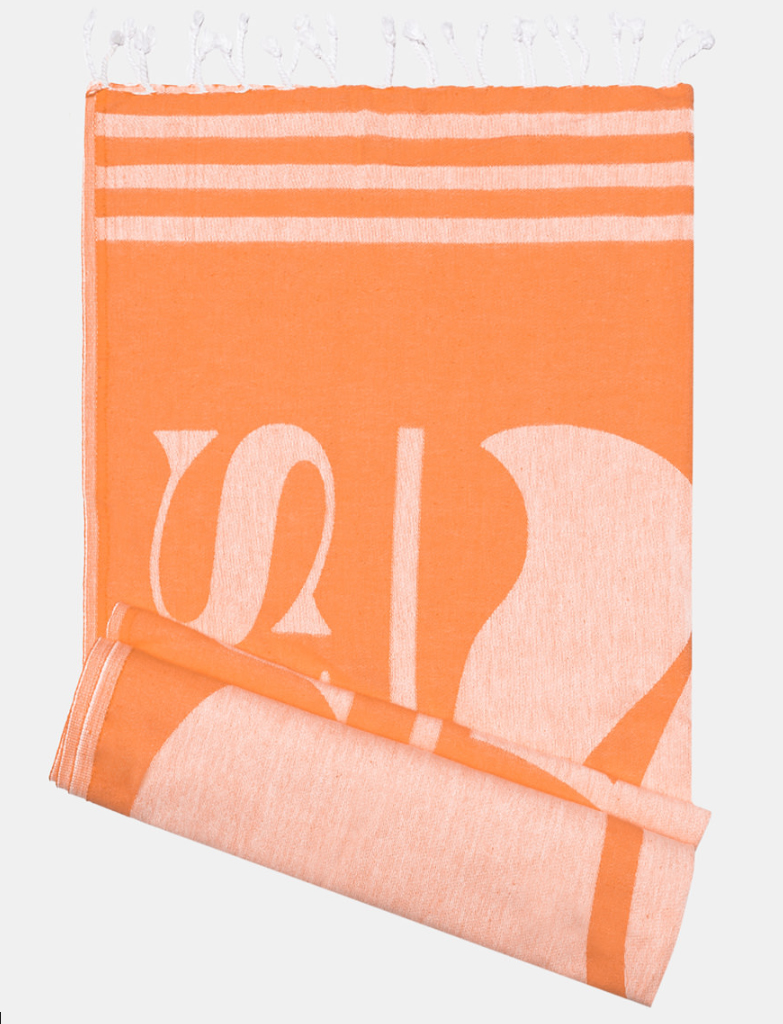 Da Hobby Sport Telo mare cotone Sundek - Arancione
